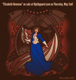 """Elizabeth Nouveau"" is on sale at RIPT Apparel!www.riptapparel.com"