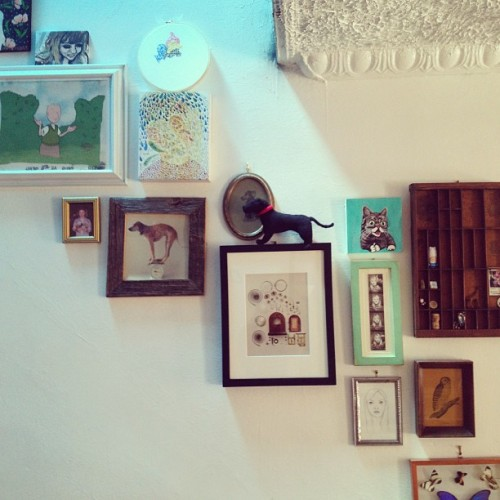 mememolly:  Put up some new things including a gorgeous painting by @theperoxidequeen!!