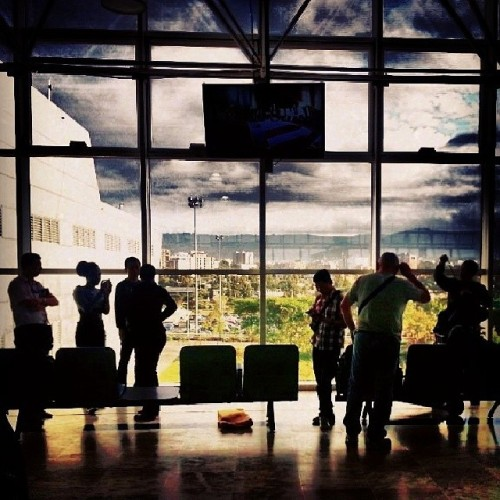a view from Addis Ababa… en route to Abuja… #photooftheday #airport #silhouette