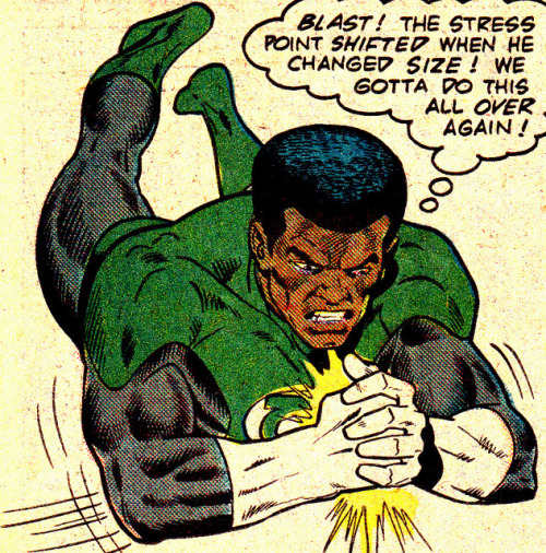 jthenr-comics-vault:  John Stewart on Flickr.Green Lantern Vol. 21, #165 (June 1983) Art by Keith Pollard & Dan Adkins