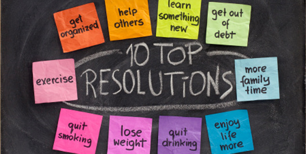 These are the top ten resolutions not just for 2013, but for every year since resolutions came to be. Now, it's the 4th day of January and I want to know, how many of these resolutions have you broken already? If you've stuck to them, good for you, but even if you haven't, don't beat yourself up just yet! No matter how many times you break the rules, fall off the wagon, or your life gets out of control, pick yourself up and get back to it. Don't give up, make 2013 your best year EVER!