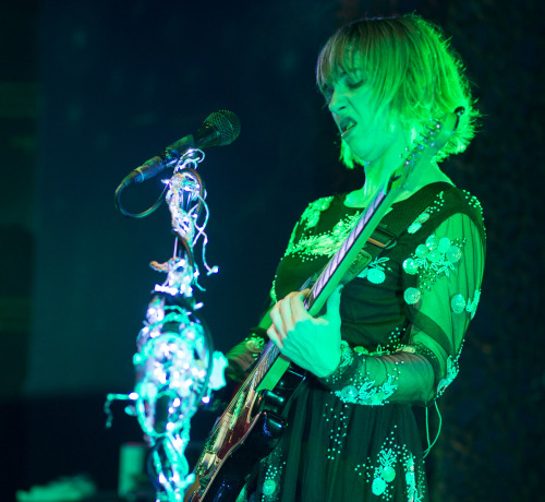 Ritzy makes faces/The Joy Formidable at The Visulite, Charlotte