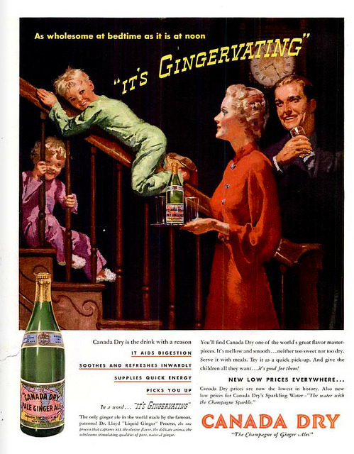 killingtime2:  Canada Dry 1937 on Flickr.