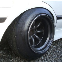 RS #WatanabeWednesday! #wheelwednesday #fatlip #offset #stance #slammed (at Porto's Bakery & Cafe)