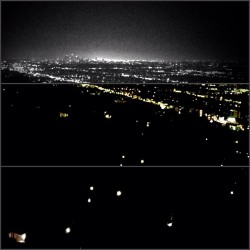 good night world!! from the top of Los Angeles !!!