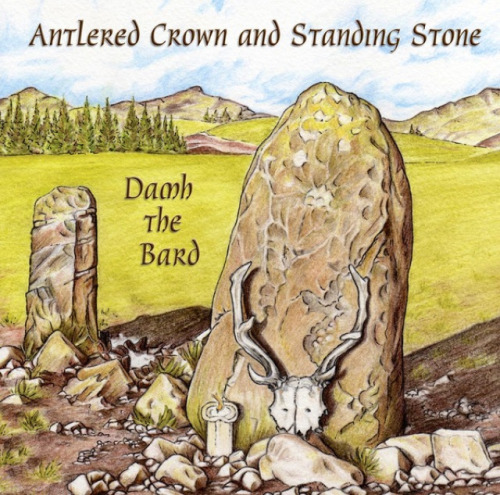 cypresstreeman:  Antlered Crown and Standing Stone – Damh the Bard Verse 1 I am the face within the leaves, I am the voice within the trees, I am boy, I am man, The face of the changing land, And I have been your constant guide, From your caves on the mountainside, We have walked hand in hand. Verse 2 Everywhere that I have been, My passing turns the grey to green, The birds sing to the dawn, And the land has awoken. Now my Lady lays with me, Our love weaves its tapestry, Eternal threads, unbroken. Chorus I am lover, I am father, I am Horned God and King, I'm the life in all of Nature, That is reborn every Spring, Call of stag and cry of eagle, I am Child of Barleycorn, And I am the Antlered Crown and Standing Stone! Verse 3 I am the oats, the corn and grain, A bearded man with a crooked cane, Cut me down, I must die, For the land to be born again, But don't you cry and don't you grieve, For soon the Wild Hunt I will lead, On the night of Samhain. Verse 4 The air is cold, The sky is grey, Where am I this Winter's day, Bones of trees, fallen leaves, The time of the Winter Queen, But through the wind and snow and rain, Know a part of me remains, The Holly stands, evergreen. (Damh the Bard 2012) I love this song