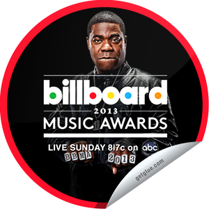 I just unlocked the The 2013 Billboard Music Awards sticker on GetGlue                      5912 others have also unlocked the The 2013 Billboard Music Awards sticker on GetGlue.com                  You're laughing along with host Tracy Morgan and signing along with the performances of the 2013 Billboard Music Awards! Who will be honored with the Icon Award this year? Thanks for tuning in! Share this one proudly. It's from our friends at ABC.