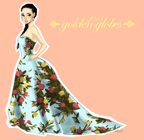 milkmiel:  so I completely fell in love with lucy liu at the 2013 golden globes