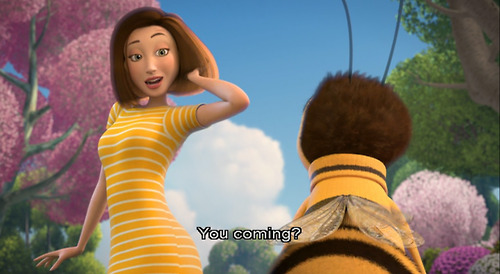 uniquanaomi:  bikinimybottom:  remember when bee movie promoted bestiality   *beestiality