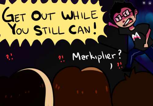 leslielumarie:  The fact that my two favorite gamers (Markiplier and the Grumps) played Five Nights at Freddy's made me so happy ;u;