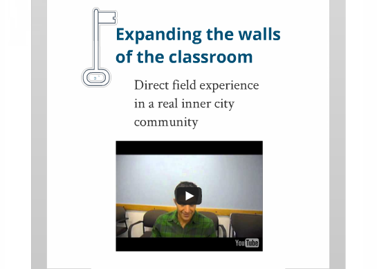 See the Community Innovation Lab Prezi [link] - a short summary of the course from a student perspective.