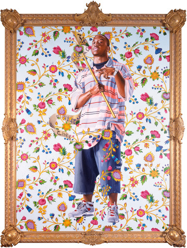 isabebe:  Kehinde Wiley St. John the Baptist II, 2006