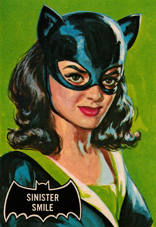 Topps bubblegum trading card by Norman Saunders c. 1966