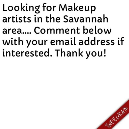 #mua #savannah #savannahga #artists