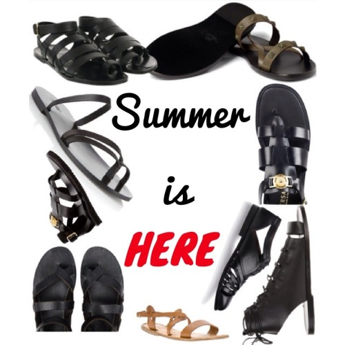 So summer is around the corner & it's time to buy sandals, shorts, beach bags before there is nothing left. So I'm going to give you guys good cheap places to buy Mens sandals.  •Polyvore •etsy •Popsugar So if you have an iPhone, they have apps! Have fun 👕👓☀