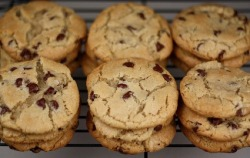 New York Times Chocolate Chip Cookies Recipe - Featured on Food2Fork.com