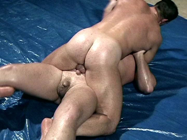 Naked gay wrestling interracial