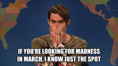 Even Stefon is pumped for some basketball!  It's gonna be a lonnnng day leading up to Cuse's 9:57 PM tip-off time. More on that later…