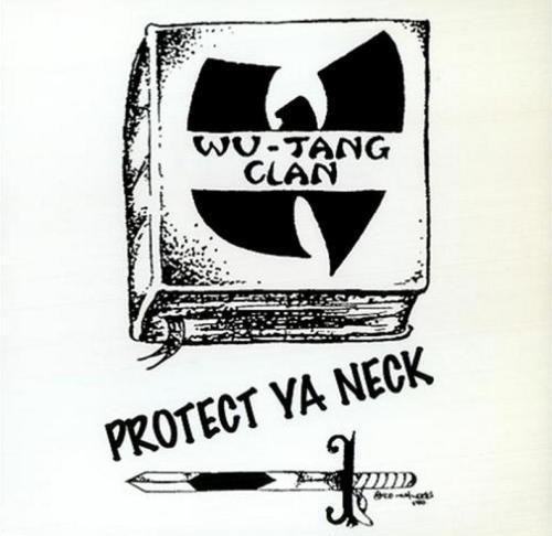 "upnorthtrips:  20 YEARS AGO TODAY |5/3/93| Wu-Tang Clan released their debut single, Protect Ya Neck, on Loud Records.   I remember buying the cassette single at The Wiz on Flatbush Ave.  Hand drawn ""W"" looking so rough.  The aesthetic matched the sound and forever changed the game."