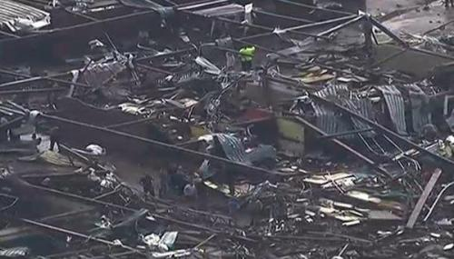nativeamericannews:   More Than 50 Dead as Tornado Decimates Moore, Oklahoma, Hometown of Rep. Tom Cole, and Levels School A massive tornado ripped through Moore, Oklahoma, the hometown of U.S. Representative Tom Cole, on Monday May 20, killing at least two people and decimating a school with children inside.