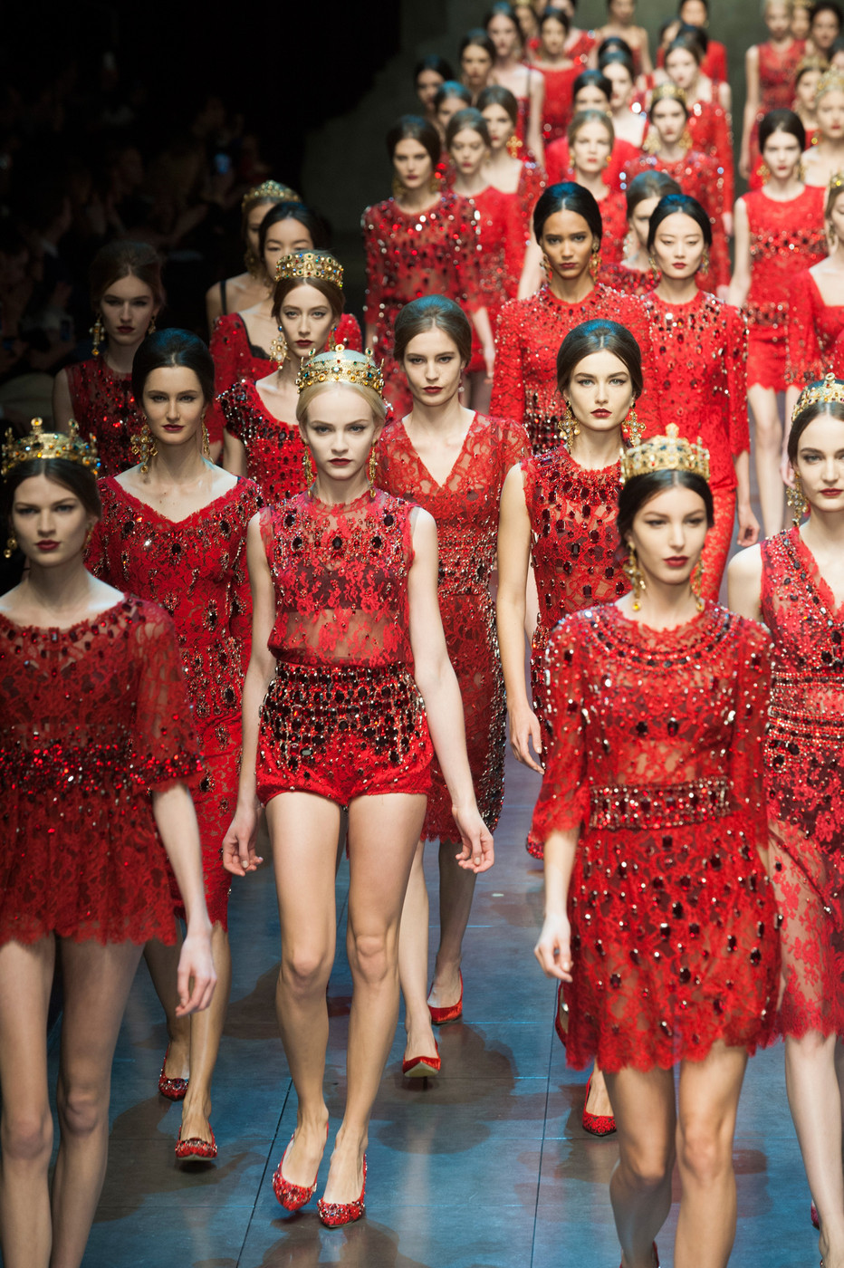 Dolce and Gabbana RTW Fall 2013