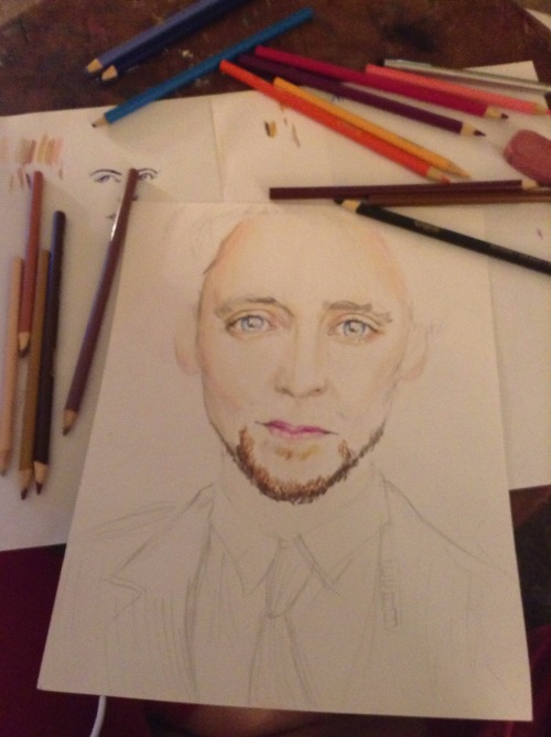 A little more hiddleston progress
