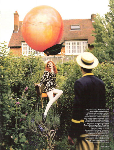 "the-front-row:   ""Tales of the Unexpected ""Vogue UK December 2008 by Tim Walker"