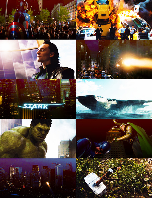 eyegasm movies: ↳ the avengers