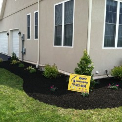Small landscape design & install in York, Pa… #ryanslandscaping #landscaping #landscapecontractor #beautiful #happycustomer