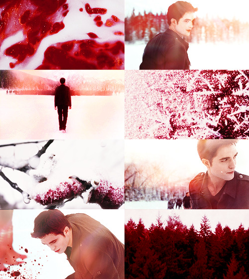 breaking dawn in red {edward}