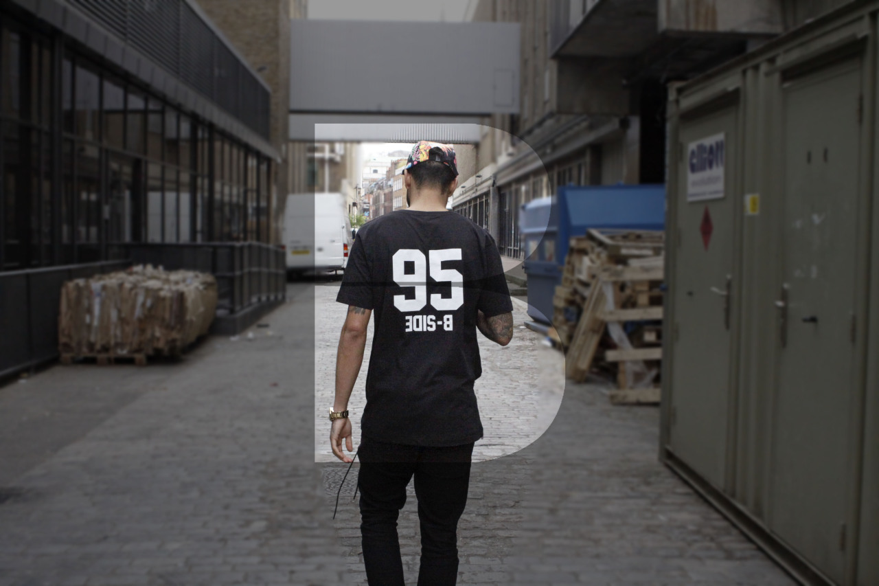 ONLINE | Josh wears our 'Upside 95' tee and 'Killer B' Snapback -   Available here: www.b-sidebywale.com