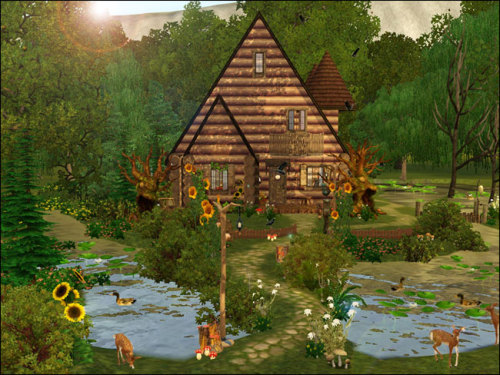 The Sims 3The witch's hut (residential lot)Lot size - 40x40File size - 97 mbPrice - 52 875$Fully furnished, 1 bathroom, 2 bedroomsThanks to all creators who's cc have used.Download #sims 3 residential lot  #sims 3 lot  #sims 3 download  #sims 3 forest #ts3 interior#ts3 exterior#simblr#ts3 house#2015#naday-sims3