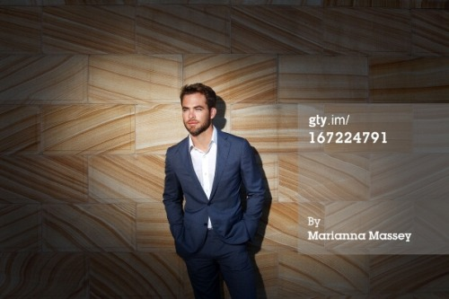 "gettyimages:  ""Star Trek Into Darkness"" - Chris Pine at the 'Star Trek Into Darkness' photo call on April 23, 2013 in Sydney, Australia. Photo by Marianna Massey/Getty Images for Paramount Pictures International"