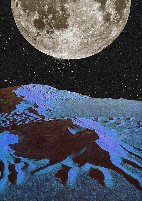 think-less-but-see-it-grow:  Lunar by Collage al Infinito by Trasvorder on Flickr.