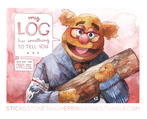sticksstonesandherringbones:The Twin Peaks Muppet prints are now available!Thanks to the good folks over at InPrnt, all the designs are now all available print-to-order in a variety of sizes, AS WELL as i-phone and tablet cases!Go to HERE to check them out, as well as some of my older designs, and thanks to everyone for all your positive feedback and support!it&#8217s true, you never know who&#8217s gonna show up in the Lodge