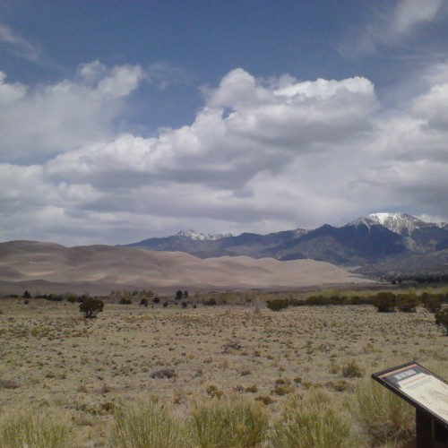 at Great Sand Dunes National Park