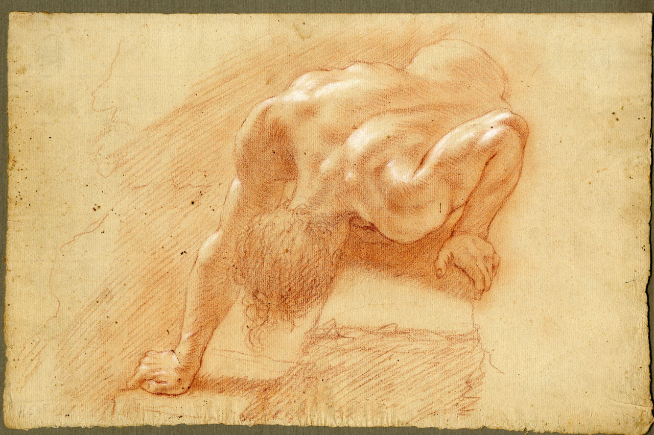 Anonymous, Male Nude,18 century