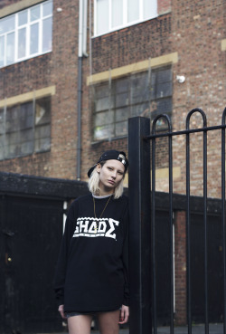 shadelondon:  Photography: Chris CassielStyling: Rachael RodgersModels: Emily