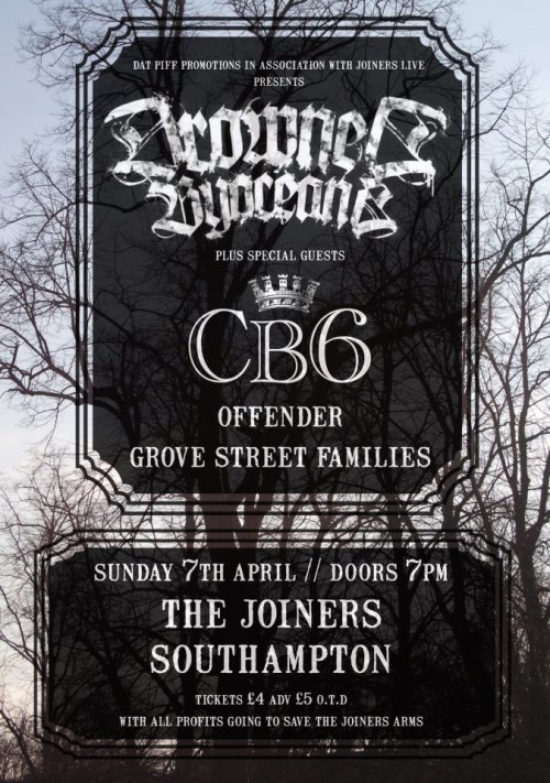 Sunday // Southampton // The Joiners! https://www.facebook.com/events/136535076519590/?ref=22