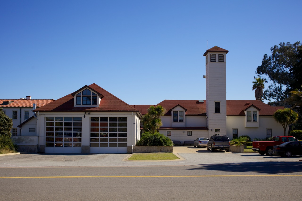 Such a quaint little fire station situated in the middle of The Presidio, a former military base.  Presidio Fire Station, San Francisco, February 2013.