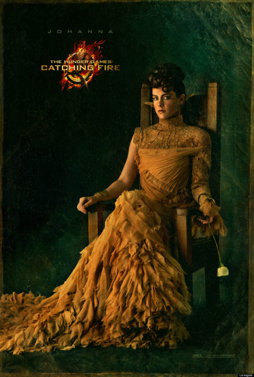 suicideblonde:  Jena Malone as Johanna Mason in The Hunger Games: Catching Fire