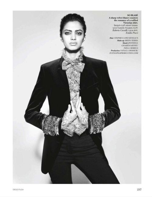 Jyothsna Chakravarthy in Vogue India, November 2011