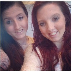 Me and the sister #christmas #smile #brunette