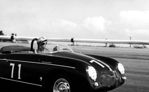 McQueen and his 356 Speedster.