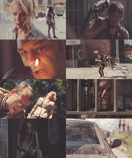 agentoliviabishop:  One picspam per Walking Dead episode: I Ain't a Judas (s03e11)