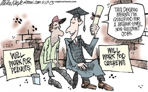 Mike Keefe: Graduation