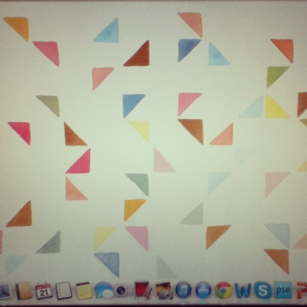 My New desktop background makes me happy. :) #designlovefest