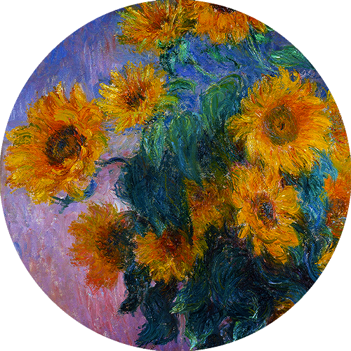 Bouquet of Sunflowers (1880) Claude Monet