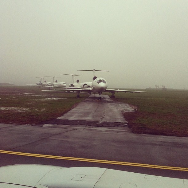 cahenri:  Very, very low clouds… #clouds #weather #russia #sky #planes #airplanes