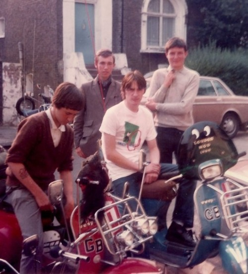 kru251:  A young Paul Weller on a happy mod's vespa   Go mod or go home!